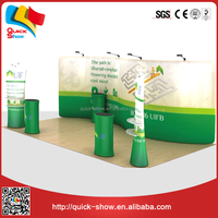 Exhibition modular display standsadvertisement display rack trade show booth
