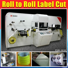 Laser Die Cut for Roll to Roll Self Adhesive Label Cutter with Galvo System