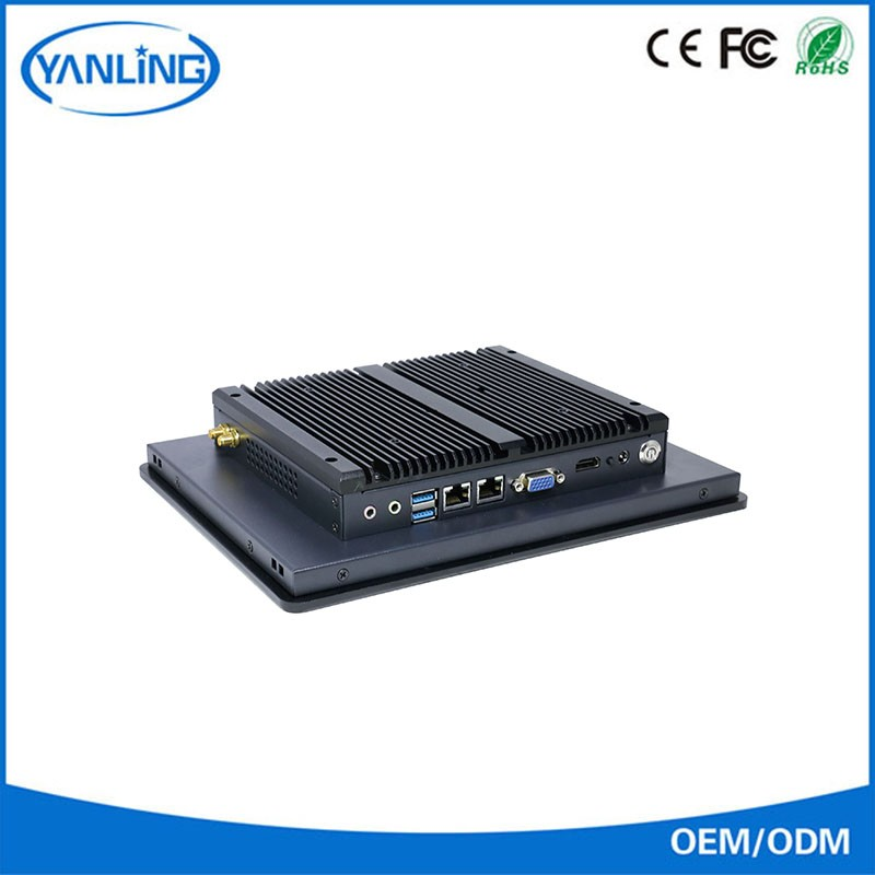 j1900 2.0GHZ industrial all in one pc ITPC-A104 industrial computer 2 lan port quad core industrial celeron mini pc