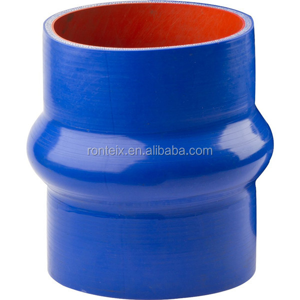 Automotive Flexible Straight Hump Silicone Hose 8mm with Smooth Surface