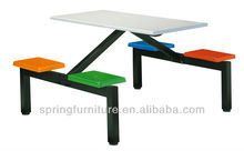 dining table used dining room furniture for sale canteen table and chair CT-016D