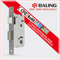 MORTICE LOCK BODY HIGH ANTI-THEFT LOCK BOBY 304 STAINLESS STEEL DOOR LOCK BODY