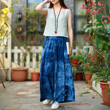2017 Ladies Wide Leg Maxi Pants and Skirts