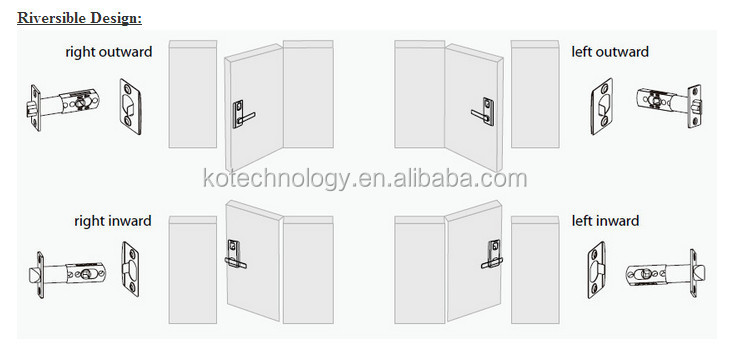 KO-ML10 Multi-point fingerprint lock