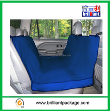Blue Foldable Waterproof Pet Car Bench Seat Cover