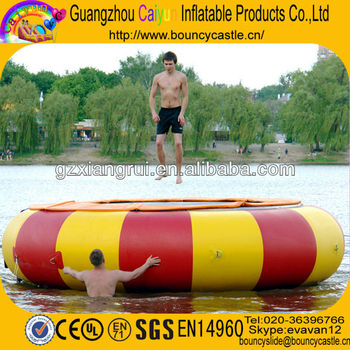 2013 Hot Sell Inflatable Water Trampoline