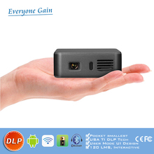 DH-A390 New mini cube projector with android wifi wireless control