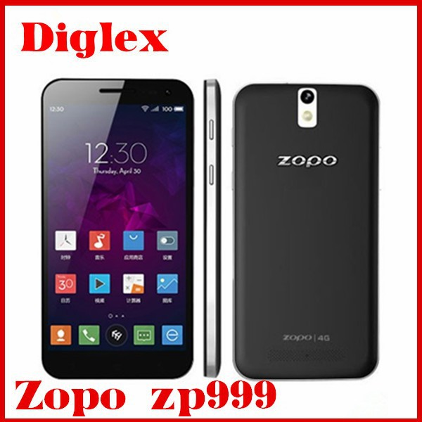 Factory Price! New ZOPO ZP999 Lion Heart Andriod Phone MTK6595 Octa Core 3GB+32GB 14Mp Cameras Russian Dual sim Mobile Phone