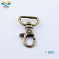 Metal black swivel bolt snap dog hook wholesale
