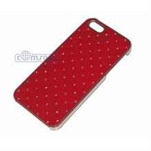 Bling star Design PC case for iphone 5 5G with Luxury Bling Crystal Diamond hard case for iphone5