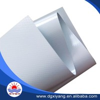 High strength coated silver tarp