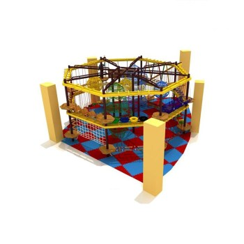 Kids plastic modern naughty kids indoor playground equipment HF-158A