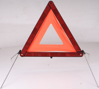Sales hot in Europe car safety products -reflective triangle with E-mark