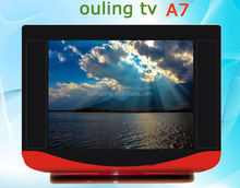 television sales ouling tv WJ-A7 red set 14 inch crt tv