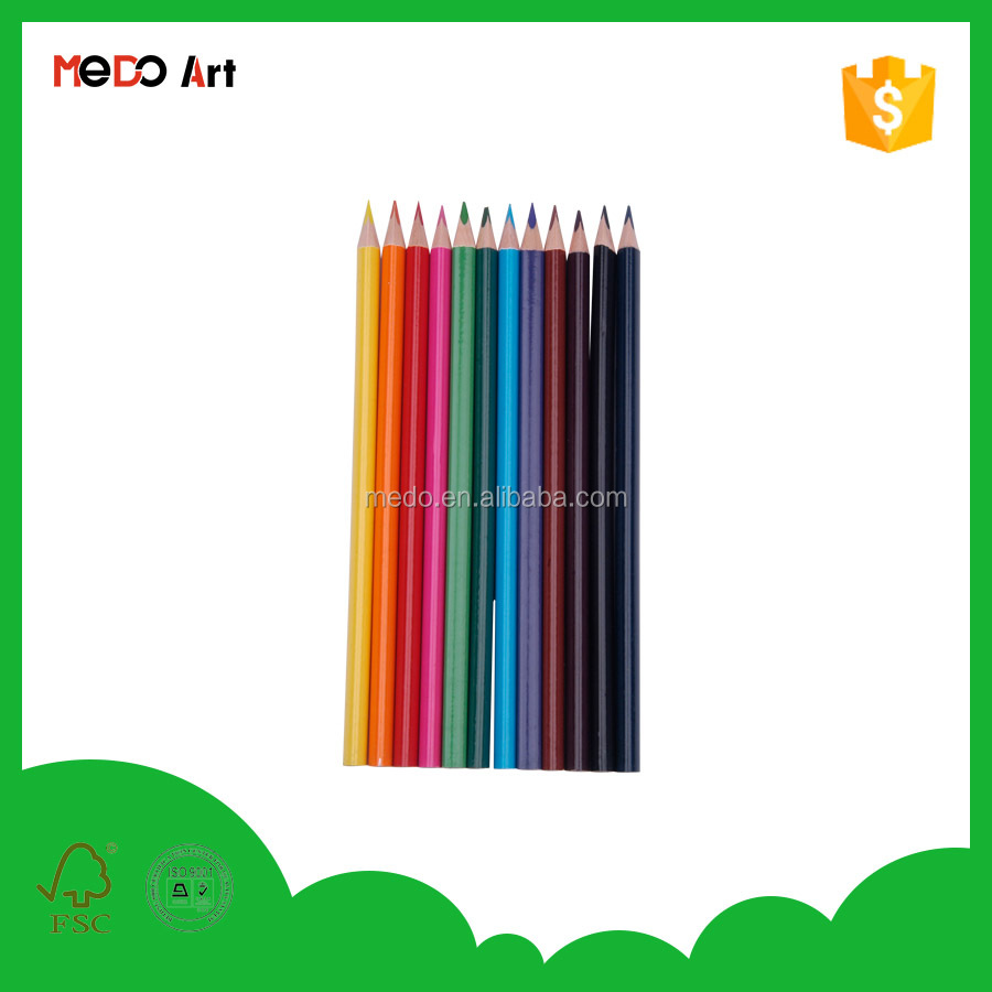 Wholesale cheaper antique wooden coloured pencil