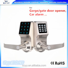 House/Apartment Card Mechnical Key Remote Password Electric Door Lock Wireless