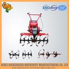 Farm gasoline power used tiller for sale with spare parts