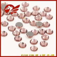 China Manuefacture Flatback Hot Fix Rhinestone AB Crystal For Cloth