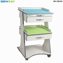 BR-DBC06 New design mobile fireproof dental clinic cabinet hot sale