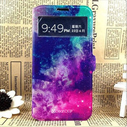fantasty star mobile phone leather cover case for case for samsung galaxy core i8260 i8262