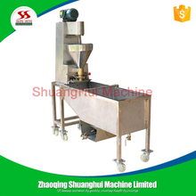 Automatic fishball meatball beef ball forming machine