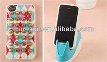 Custom Studded Phone Case for Silicone Cover& Pyramid Studs