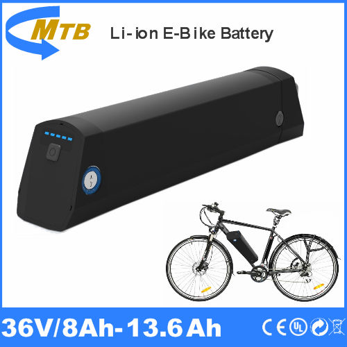 ebike bottle 36v 10ah lithium battery with integrated Mini controller