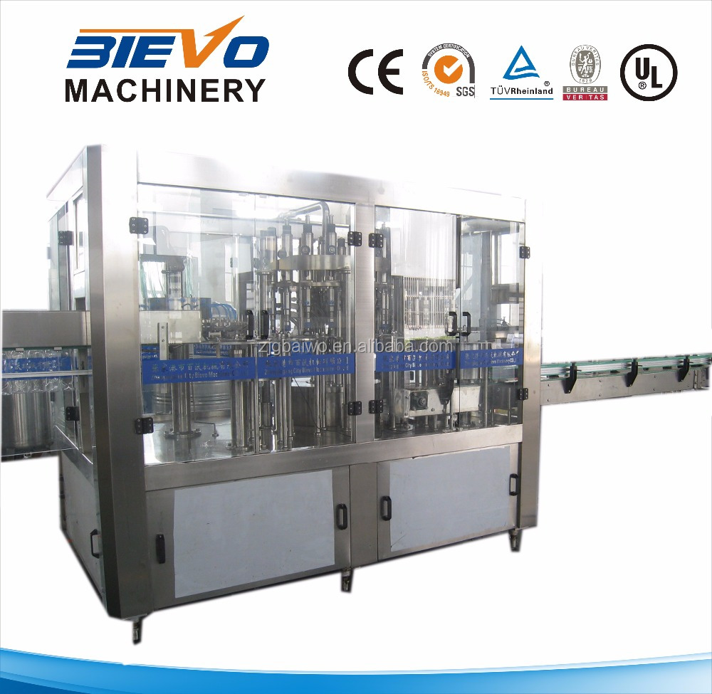 full automatic pure water / mineral water bottling equipment prices
