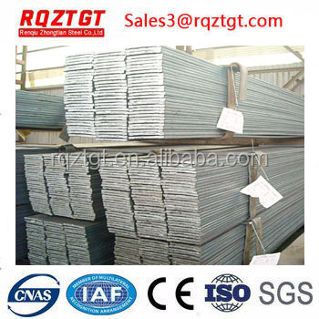 Price of hot rolled steel flat bar rod for construction structure and frame use