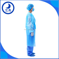 pp/pe eo sterile disposable surgical gown