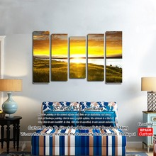 Cheap famous scenery abstract oil painting