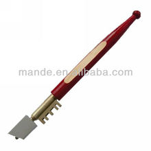 Free shipping glass cutting tool types of glass cutters wood handles