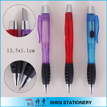 office supply multi-function two sides ballpen with knife