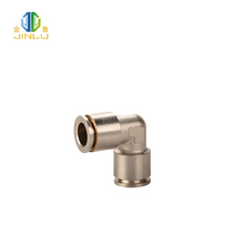 Push fit plumbing copper hose barb copper fittings elbow
