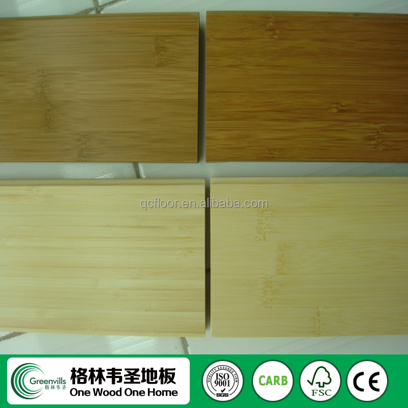 Vertical Solid Bamboo Flooring Natural/Carbonized China factory price