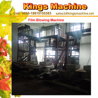 High Speed High Output Plastic PE Film Blowing Machine(Kings Brand)
