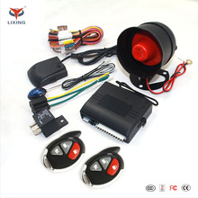 Lixing car over speed car alarm canbus security system with central lock