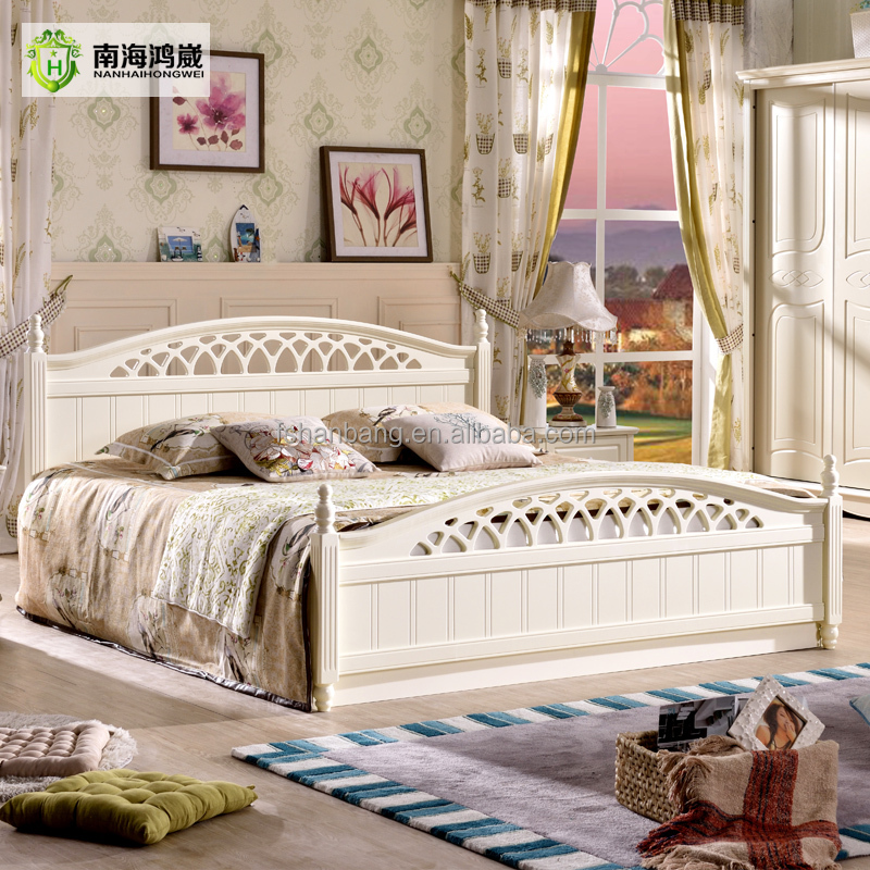 Modern china foshan malaysia mdf wooden bedroom furniture for Wood bed design 2016