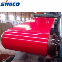 Color coated PPGI steel coils sheet metal used for roofing