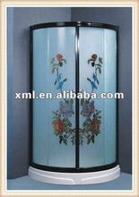 AS-L009 Rectangle glass shower room/steam room/steam shower cabin