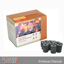 Instant Lighting 3KG Portable BBQ Charcoal Brick With Colored Box