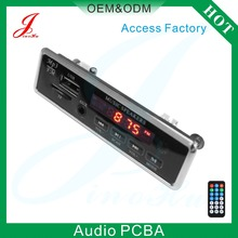 Factory direct sale JLH-2016 Audio Car Radio USB FM Mp3 Player Circuit Board pcb,Sound Radio Decoder Module For China