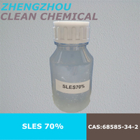 good quality Sodium Laurel Ether Sulphate 70% SLES,Detergent Raw,cosmetic raw
