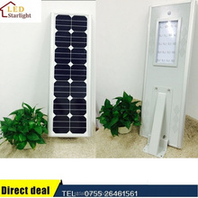 Factory supply IP65 12V 20W Integrated solar road light