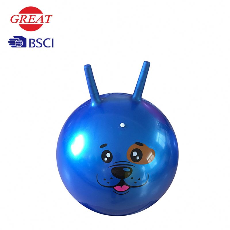 Hop ball inflatable
