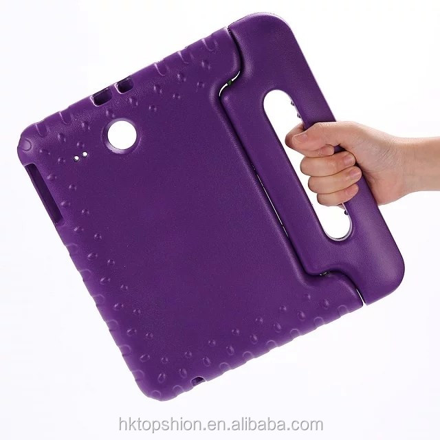 China supplier lightweight & drop-proof EVA children case for samsung tablet ,for galaxy tab e 9.6'' t560 cover case with handle