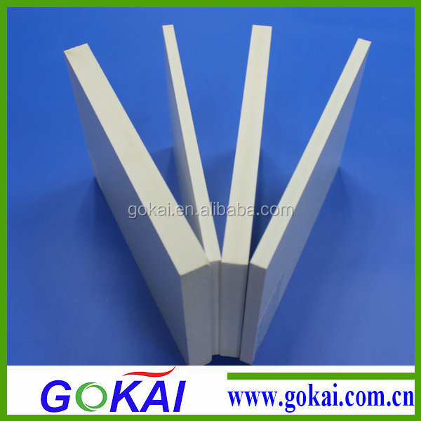 Gokai professional thin foamed pvc sheet suppliers