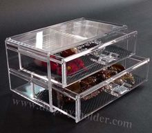 Clear Acrylic Makeup Case for perfume