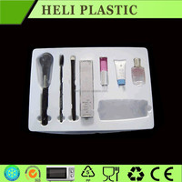 2015 NEW plastic cosmetic packaging display tray