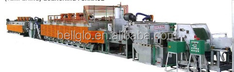 bright carbuzing tempering industrial furnace